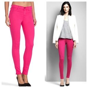 J Brand 485 Super Skinny Luxe Sateen Jeans 29